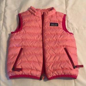 Patagonia pink vest!